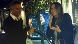 Emina Jahovic ve Sadettin Saran yemekte Artık gizlemiyorlar...
