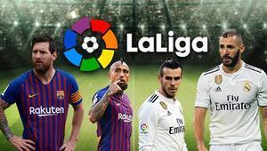 La Ligada sahne Barça ve Real Madridin Messinin durumu...