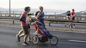 Vodafone 40. İstanbul Maratonunda renkli anlar