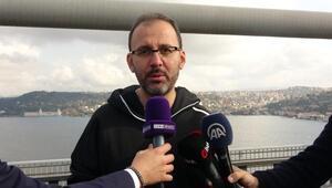 Bakan Kasapoğlu: Maratona katılmanın heyecanını ve mutluluğunu yaşıyoruz