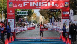 Vodafone 40ıncı İstanbul Maratonunda birinciler belli oldu (FOTOĞRAFLI)