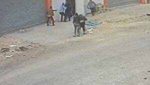 1 kişinin öldüğü, 4 kişinin yaralandığı silahlı kavga kamerada