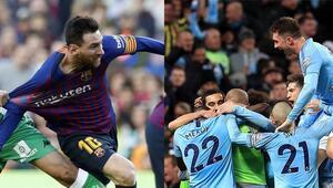 City derbide hata yapmadı, Barça kaybetti ama zirvedeki yerini korudu