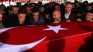 Şehit Kaymakçının cenazesi memleketine getirildi (2)