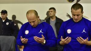 Sırbistanda Koray Şener için saygı duruşu