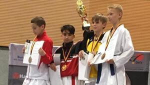Gurbetçi karateci Almanya şampiyonu oldu