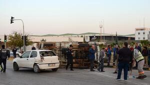 Antalyada zincirleme kaza: 6 yaralı