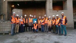 Öğrencilerden Çimento Fabrikasına teknik gezi