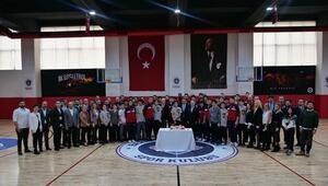 Bahçeşehir Kolejinin yeni antrenman salonu açıldı