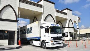 Gaziantepin Suriyeye ihracatı arttı