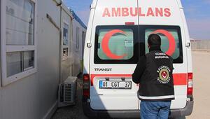 Suriyeden dönen ambulansta ele geçirildi: Gözaltılar var