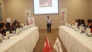 Gaziantep'te Anka desteği ile NRP eğitimi