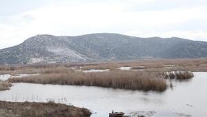 Belevi Gölüne yakın alana taş ocağı izni verildi