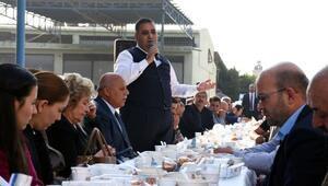 Başkan Can sanayi esnaflarıyla biraraya geldi