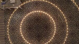 Çamlıca Caminde son gelindi