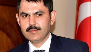 Bakan Kurum İzmirde