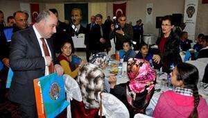 Osmaniyede 100 engelli çocuğa polis kıyafeti