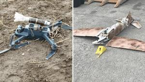PKK'nın intihar drone üssü Mahmur'da