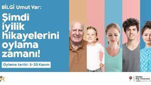 İstanbul Bilgi Üniversitesi, 'BİLGİ Umut Var' projesini başlattı