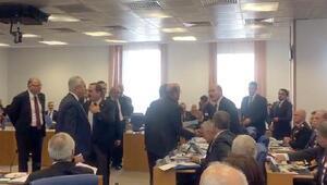 Plan ve Bütçe Komisyonunda işgal tartışması