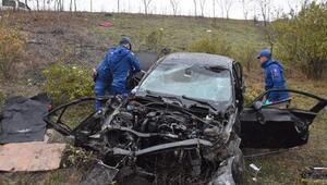 Silivride otomobil şarampole yuvarlandı: 2 ölü, 3 yaralı