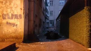 Güngörende 6 katlı bina boşaltıldı (1)