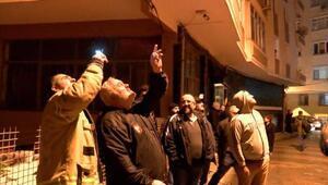 (Geniş Haber)Güngörende göçük: 6 katlı bina boşaltıldı