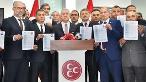 MHP 11 başkan adayını açıkladı