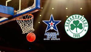 Anadolu Efes Panathinaikos basket maçı ne zaman saat kaçta hangi kanalda