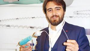 Türk cihazıyla 3 dakikada varis tedavisi