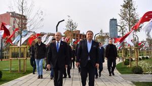 Kılıçdaroğlu, 44 dönümlük Maltepe Cumhuriyet Parkı'nı ziyaret etti