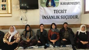 Şanlıurfa'da HDP'lilerden 2 günlük açlık grevi