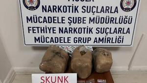 İstanbuldan getirdikleri uyuşturucu ile yakalandılar