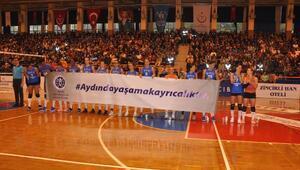 Aydın Büyükşehir Belediyespor - VakıfBank (FOTOĞRAFLAR)