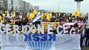 KESKten İzmirde bölgesel miting
