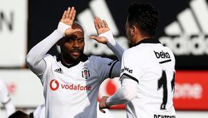 Beşiktaştan galibiyetli prova İstanbulspor...