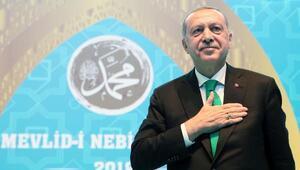 Cumhurbaşkanı Erdoğan Mevlid-i Nebi Haftası Açılışında konuştu-geniş haber