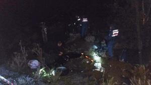 Denizlide otomobil takla attı: 1 ölü, 5 yaralı
