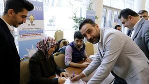 Antalya Ak Partide temayül yoklaması