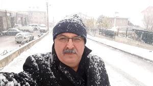 Uluborluda kar yağışı