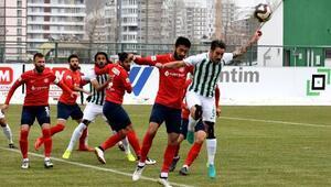 Sivas Belediyespor-Zonguldak Kömürspor: 1-4