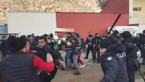 Gümüşhanede maç sonrası olaylar çıktı: 10 taraftara gözaltı