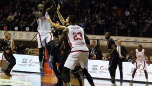 Gaziantep Basketbol - Beşiktaş Sompo Japan: 63-56
