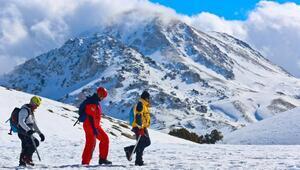 Saklıkentte kayak sezonu için geri sayım