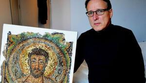Kuzey Kıbrısta çalınan mozaik Monakoda bulundu