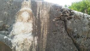 Roma Dönemine ait kadın kabartması bulundu