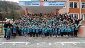 Minik Kalpler Okul-Kulüp projesi İkizdere'den başladı