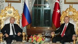 Son dakika… Mabeyn Köşkü'nde Erdoğan-Putin zirvesi