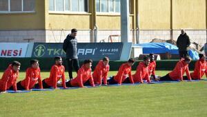 Kayserispor, Aytemiz Alanyaspor maçının hazırlıklarına başladı