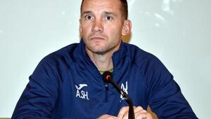 """Andriy Shevchekno: """"Yarınki mücadeleyi dostluk maçı olarak algılamamız gerekiyor"""""""
